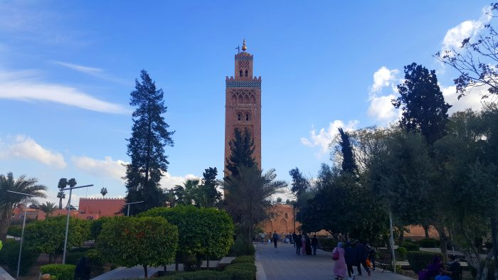 Minaret of the Koutoubia Mosque, Marrakech