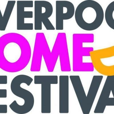 Liverpool Comedy Festival Logo with background